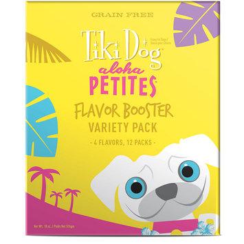 Tiki Dog Aloha Petites Variety Pack Dog Treat, 1.5 oz pouch, Case of 12