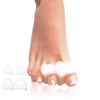 Toe Separators Toe Spreaders, Toe Spacers for Bunion, Hammer Toes, Overlapping Toes, Drift Pain