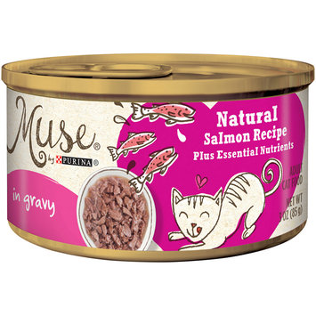 Purina Muse Muse by Purina Natural Variety Pack in Gravy Wet Cat Food - 3 Oz. (Pack of 4)