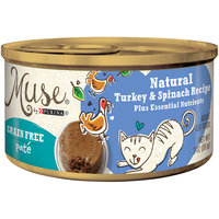 Purina Muse Muse by Purina Natural Variety Pack Pate Wet Cat Food - 3 Oz. (Pack of 4)