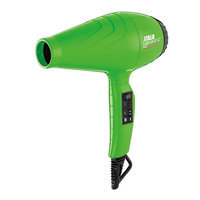 BaByliss Pro Italo Luminoso Dryer, Green