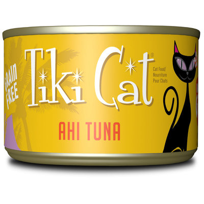 Tiki Cat Hawaiian Grill Ahi Tuna Wet Cat Food, 6 oz, Case of 8