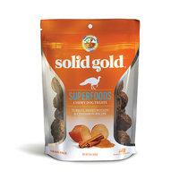 Solid Gold Grain Free Turkey, Sweet Potato & Cinnamon Natural Chewy Dog Treats, 6 oz.