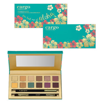 CARGO You Had Me At Aloha Eyeshadow Palette, Multicolor