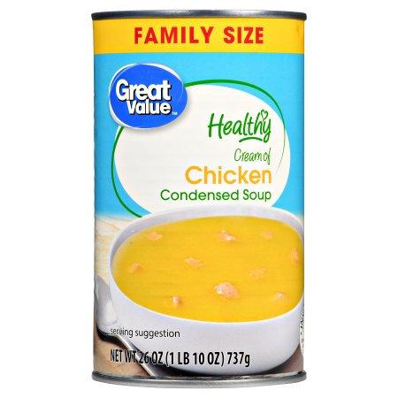 Morgan Foods Inc Great Value Healthy Cream of Chicken Condensed Soup, 26 oz