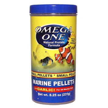 Omega One Omega, One Marine Garlic Pellets Fish Food size: 8.25 Oz