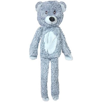 Multipet Aromadog Calming Dog Toy Fleece Flat Body Bear, Blue, One Size Fits All