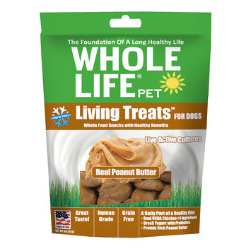 Whole Life Freeze Dried Treats For Dogs, Chicken Liver, 3.5 oz