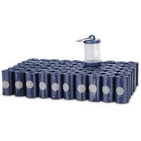 Animaze Dog Waste Bag Rolls and Dispenser, 900 CT