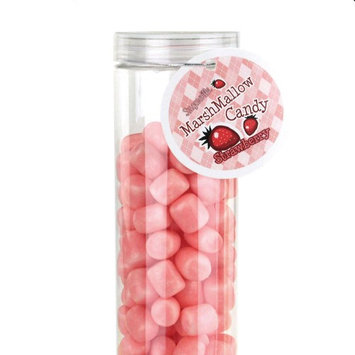 Firefly Imports Marshmallow Candy Plastic Tube Party Favor, 200-gram, 12-Inch, Strawberry