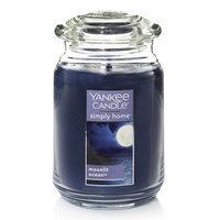 Yankee Candle simply home Moonlit Ocean Large Jar Candle, Dark Blue