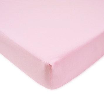 TL Care Velvet Crib Sheet, Pink One Size