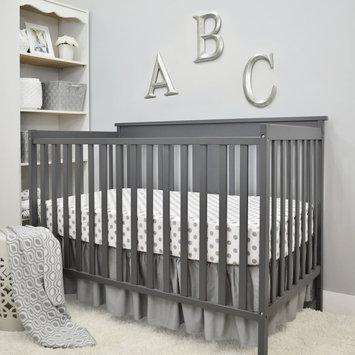 TL Care 3-pc. Polka-Dot Crib Bedding Set, Grey