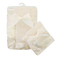 TL Care 2-pk. Sherpa Receiving Blanket Set, Other Clrs