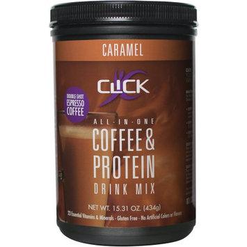 Clickco Llc Click Caramel Espresso Protein Drink Mix, 15.31 oz