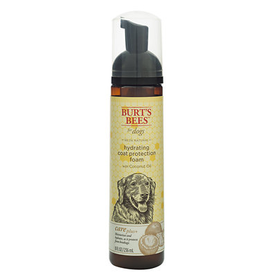 Burt`s Bees Burt's Bees Care Plus+ Hydrating Coconut Oil Coat Protection Dog Foam, 8 fl. oz.
