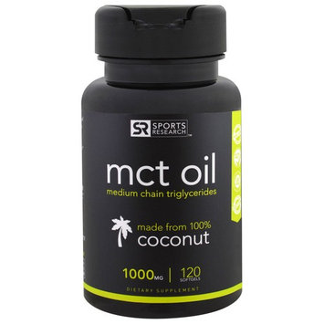 Sports Research, MCT Oil, 1000 mg, 120 Softgels