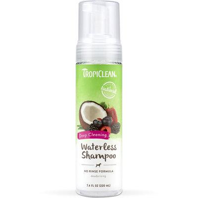 Tropiclean Waterless Pet Shampoo Deep Cleaning, 7.4 fl. oz.