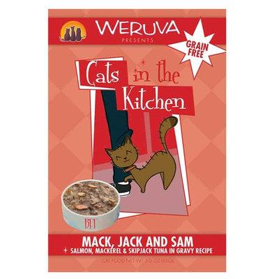 Weruva Cats In The Kitchen Mack Jack & Sam 3 oz