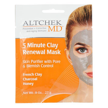 Altchek MD 5-Minute Clay Renewal Mask, Multicolor