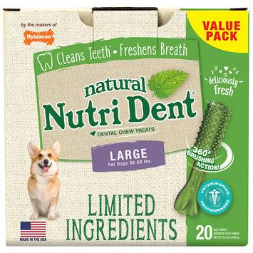 Nylabone Nutri Dent Limited Ingredients Fresh Breath Dog Treats, 2.2 lbs.