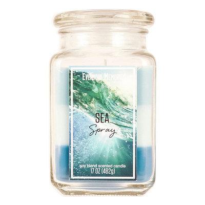 Sea Spray 17-oz. Candle Jar, Blue