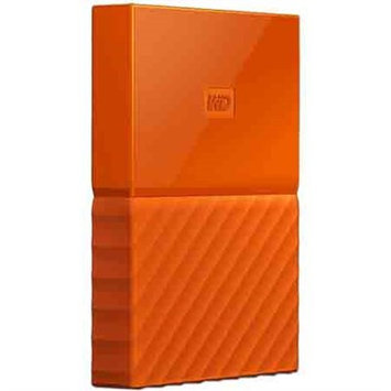 Western Dig Tech. Inc Wd - My Passport 1TB External USB 3.0 Portable Hard Drive - Orange