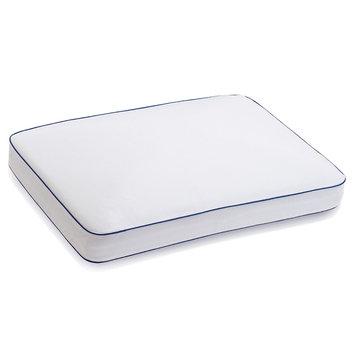 Serta Total Support Side Sleeper Gel Memory Foam Pillow, Blue