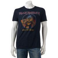 Men's Iron Maiden World Tour Tee, Size: Large