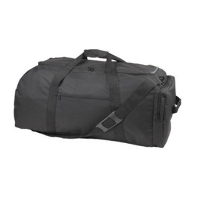Ddi Extra Large Sports Duffle/Backpack-Black (Pack Of 12)