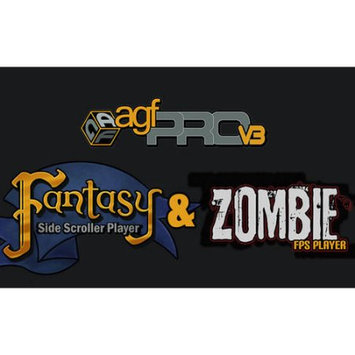 Axis Game Factory 44658 Game Factory + Zombie Fps And Fantasy Side-Scroller Player