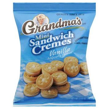 Dollaritem Wholesale Grandmas Mini Vanilla Creme Cookies 2.12Z*6M -Sold by 1 Case of 60 Pieces