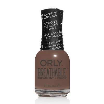 Orly Breathable Treatment & Color Nail Polish - Down to Earth, Beige Oth