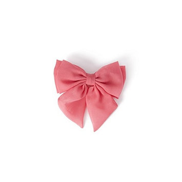 Chiffon Bow Barrette Buy Pink,get White & Mint Green Free