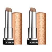 Revlon Colorburst Lip Butter, Creme Brulee 0.09 Oz (Pack of 2) + FREE Schick Slim Twin ST for Sensitive Skin