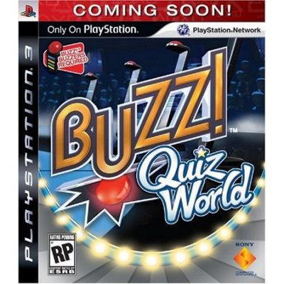 Sony Computer Entertainment Buzz! Quiz World (Playstation 3)