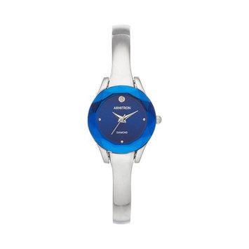 Armitron Women's Diamond Accent Half-Bangle Watch - 75/5327BLSV