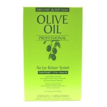 Organic Root Olive Oil Professional No Lye Relaxer Normal 2 Case # 11125 (Case of 6)