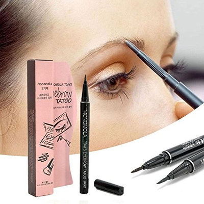 MSmask Tattoo Pen Long-lasting Updated Eyebrow Pencil Pen Waterproof Ladies Cosmetic