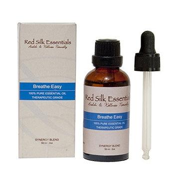 Breathe Easy Essential Oil Blend - 100% Pure Therapeutic Grade - Rosemary, Eucalyptus, Peppermint, Lavender, Tea Tree, Ravensara, Thyme