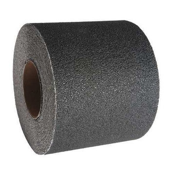Jessup Safety Track 3375 Non-Slip High Traction Safety Tape (46-Grit, Mop Friendly Black, 12-Inch x 60-Foot Roll)