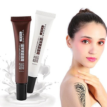 Tattoo Scar Concealer, Professional Waterproof Makeup Cover Up Cream Set for Vitiligo Cover Hiding Spots Birthmarks Coverage