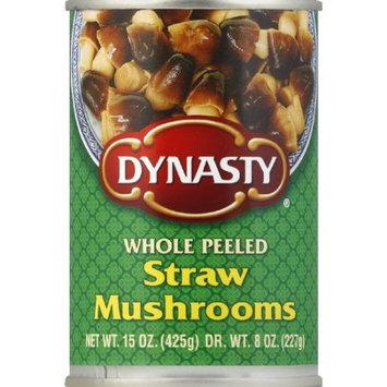 Dynasty Whole Peeled Straw Mushrooms, 15 oz (Pack of 12)