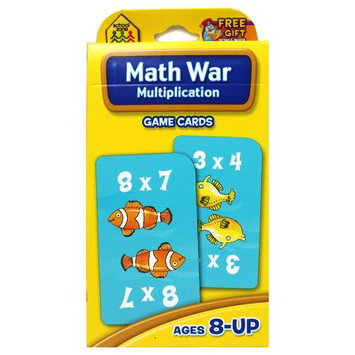 School Zone Publishing Company School Zone Publishing SZP05032 Math War Multiplication Game Cards