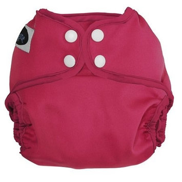Imagine Baby Products All-In-Two Shell Snap Diaper Cover (Raspberry)