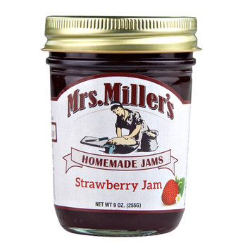 Mrs. Miller's Strawberry Jam 9 oz. (2 Jars)