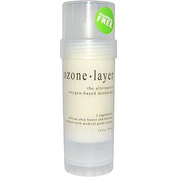 Ozone Layer Deodorant - Unscented - The All Natural Oxygen Based Deodorant