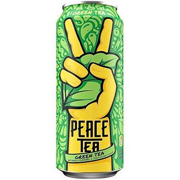 Peace Tea, Green Tea, 23 Ounce (Pack of 12)
