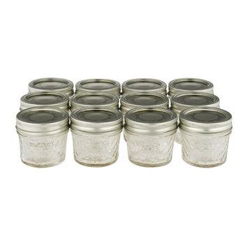 Hearthmark Llc Jarden Home Kerr 4 oz Jelly Jar, 12-Pack
