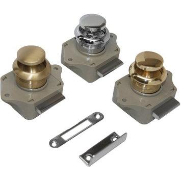 Sea Dog 2243001 Push Button Rim Latch - Chrome